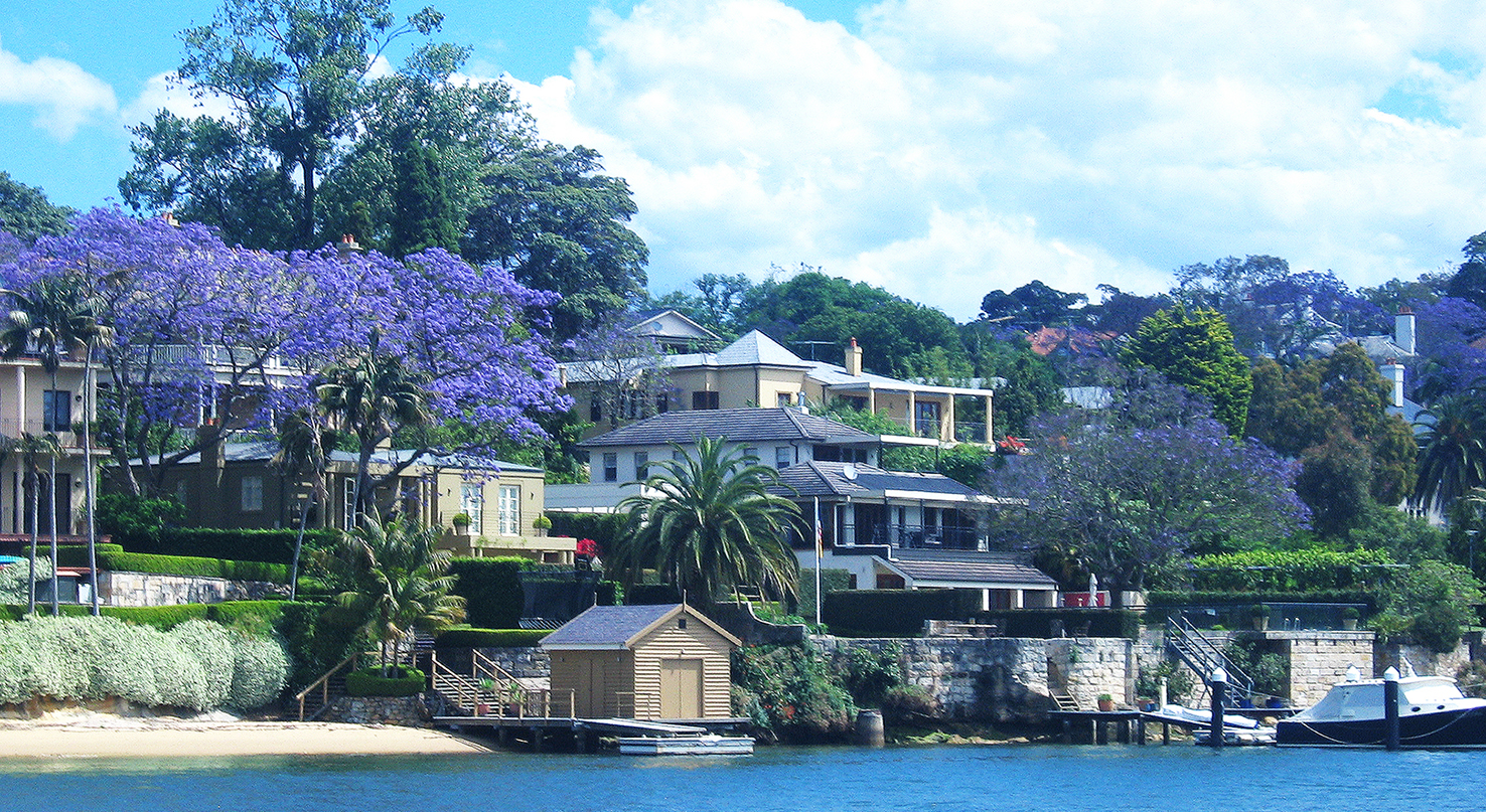 Hunters Hill from Lane Cove River