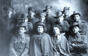 WW1 Soldiers and Nurses From Hunters Hill 1914
