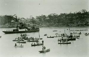 Regatta on the Parramatta River