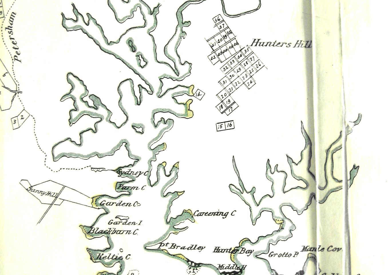 Hunters Hill Map