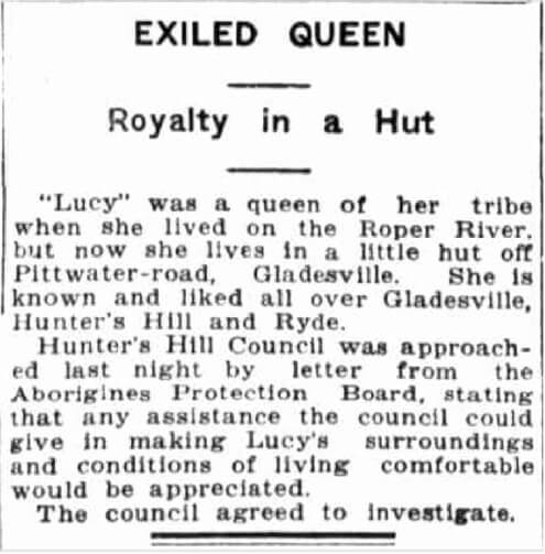 Article in The Sun on Tuesday 17 February 1925.