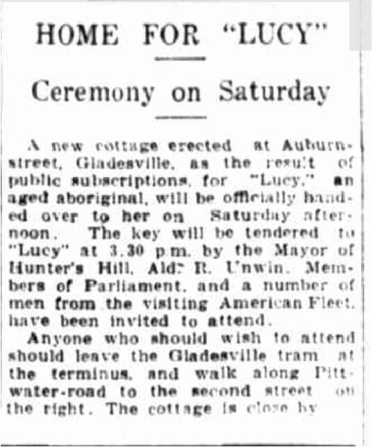 Article in The Evening News on Thursday 30 July 1925