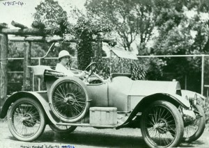 Marion Marshall from 'Eulbertie' 1922