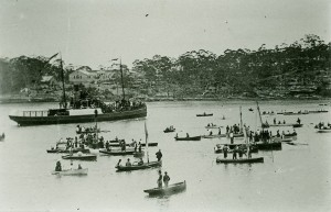 Regatta on the Parramatta River