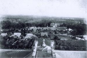 Villa Maria from St Joseph'sTower 1892